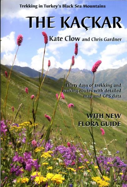 The Kaçkar (Kackar) 9780957154704 Kate Clow,Terry Richardson Upcountry   Meerdaagse wandelroutes, Wandelgidsen Turkse Riviera, overig Turkije
