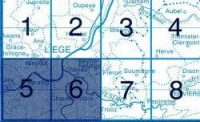 NGI-42/5-6  Seraing-Chenée 9781129302039  NGI Belgie 1:20.000/25.000  Wandelkaarten Wallonië (Ardennen)