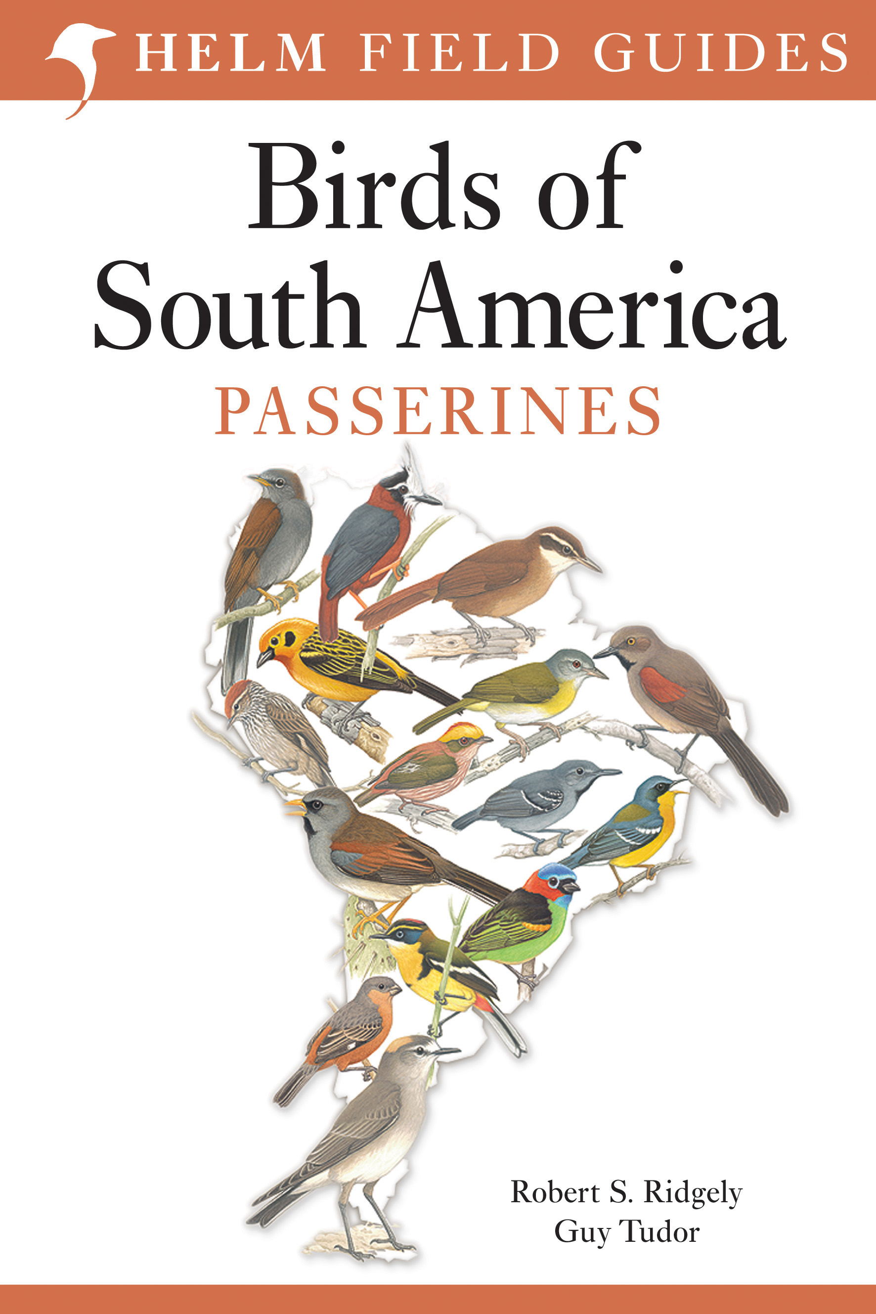 Field Guide to the Birds of South America: Passerines 9781408113424 Guy Tudor, Robert S. Ridgely Christopher Helm   Natuurgidsen, Vogelboeken Zuid-Amerika (en Antarctica)