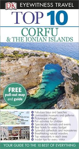 Corfu & the Ionian Islands 9781409382843  Dorling Kindersley Eyewitness Top 10 Guides  Reisgidsen