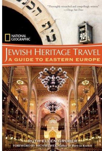 Jewish Heritage Travel 9781426200465  National Geographic   Reisgidsen Centraal- en Oost-Europa, Balkan, Siberië