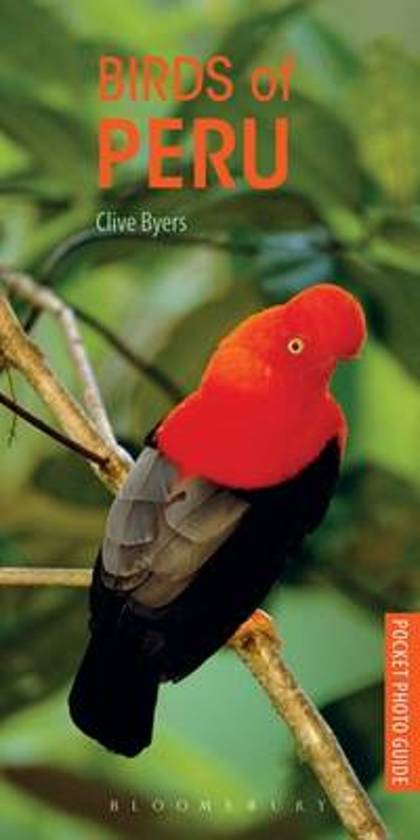 The Birds of Peru 9781472932167  Bloomsbury Publishing   Natuurgidsen, Vogelboeken Peru