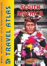 Zuid-Amerika wegenatlas 1:3.000.000 9781553410980  ITM   Wegenatlassen Zuid-Amerika (en Antarctica)