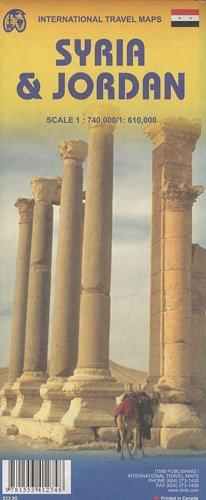 Syria + Jordan | landkaart, autokaart 9781553412748  ITM   Landkaarten en wegenkaarten Syrië, Libanon, Jordanië, Irak