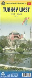West-Turkije    landkaart, autokaart 1:550.000 9781553415282  ITM   Landkaarten en wegenkaarten Turkije