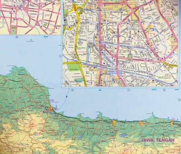 Java | landkaart, autokaart 1:600.000 9781553415466  ITM   Landkaarten en wegenkaarten Indonesië