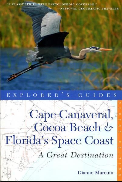 Cape Canaveral, Cocoa Beach + Florida Space Coast 9781581571202 Diane Marcum Countrymen Press   Reisgidsen Florida