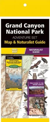 Grand Canyon National Park Adventure Set 9781583559109  Waterford Press Map & Naturalist Guide  Natuurgidsen, Wandelkaarten Colorado, Arizona, Utah, New Mexico