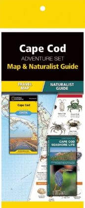 Cape Cod Adventure Set 9781583559246  Waterford Press Map & Naturalist Guide  Natuurgidsen, Wandelkaarten California, Nevada