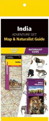 India Adventure Set 9781583559291  Waterford Press Map & Naturalist Guide  Landkaarten en wegenkaarten, Natuurgidsen India
