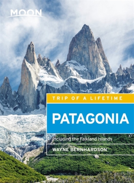 Moon Handbook Patagonia | reisgids 9781631216312  Moon   Reisgidsen Patagonië
