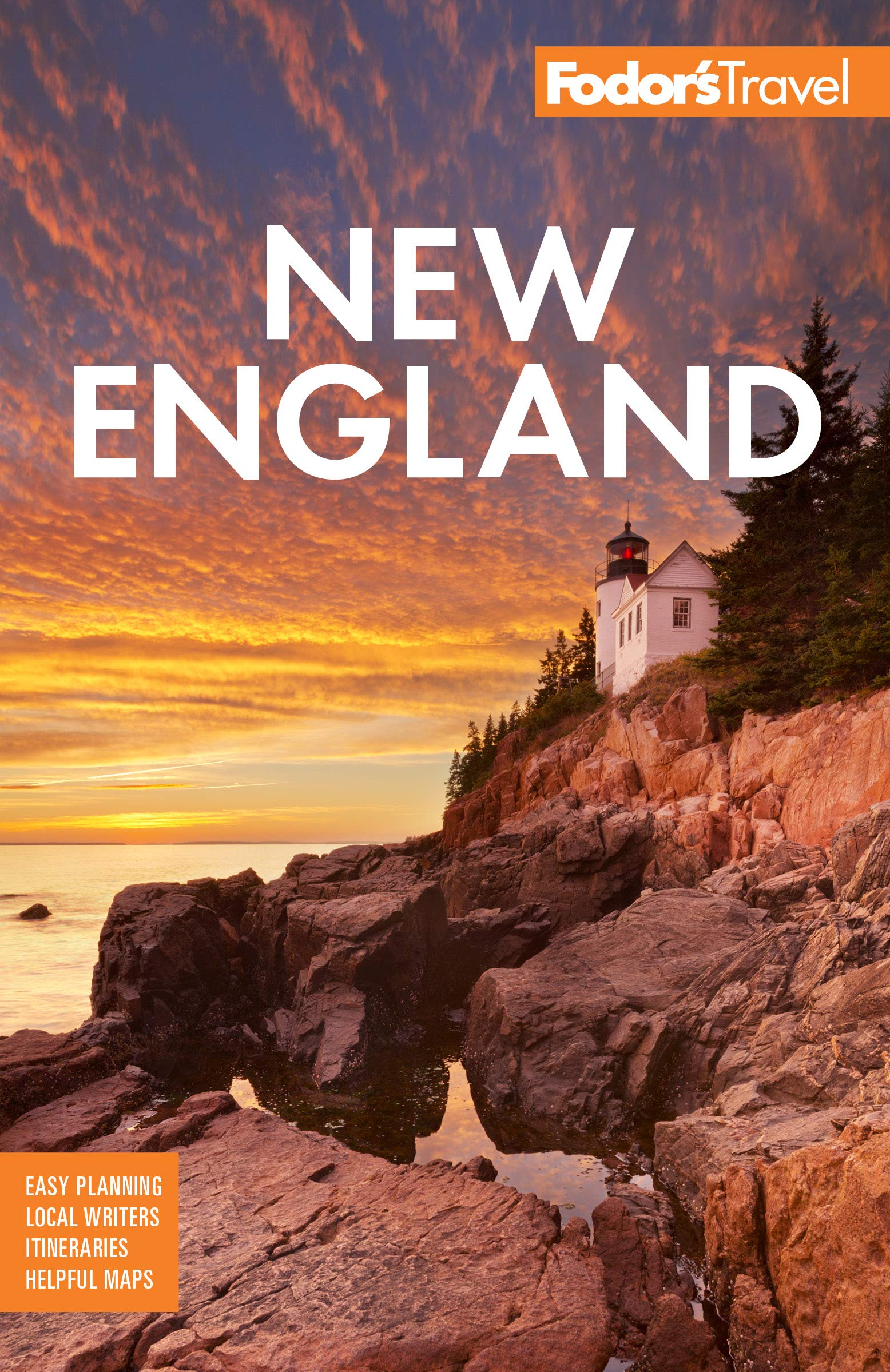 Fodor's New England : with the Best Fall Foliage Drives & Scenic Road Trips 9781640971240  Random House   Reisgidsen New England