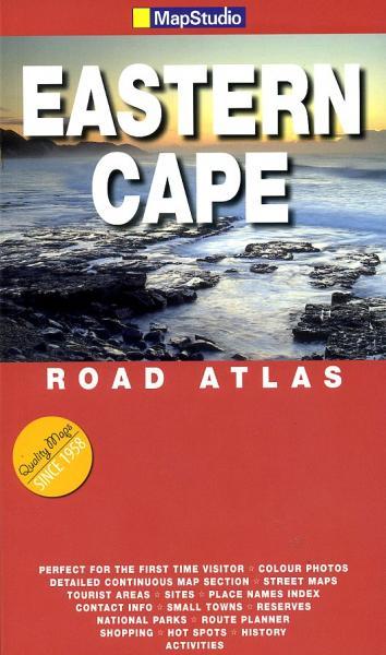 Eastern Cape Touring Atlas 1/700.000 9781770261891  Map Studio Wegenatlassen  Wegenatlassen Zuid-Afrika