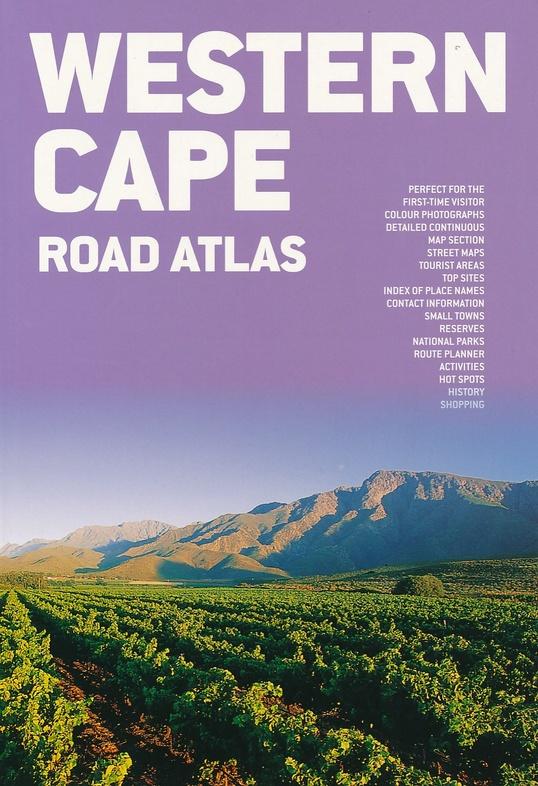 Western Cape Touring Atlas 1/600.000 9781770267831  Map Studio Wegenatlassen  Wegenatlassen Zuid-Afrika