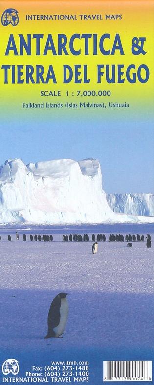 Antarctica 1:7.000.000 | landkaart, autokaart 9781771290074  ITM   Landkaarten en wegenkaarten Antarctica