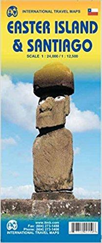Easter Island | landkaart, autokaart 1:30.000 9781771292559  ITM   Landkaarten en wegenkaarten Chili, Argentinië, Patagonië