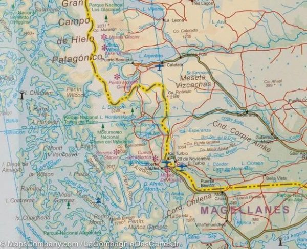 Zuid-Amerika | landkaart, autokaart 1:4.000.000 9781771297110  ITM   Landkaarten en wegenkaarten Zuid-Amerika (en Antarctica)