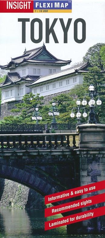 Tokyo 9781780051604  APA Insight Flexi Maps  Stadsplattegronden Japan