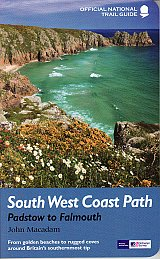 NTG09  S.W. Coast Path II: Padstow - Falmouth 9781781310625  Aurum Press OS Nat. Trail Guides  Meerdaagse wandelroutes, Wandelgidsen Cornwall, Devon, Somerset, Dorset