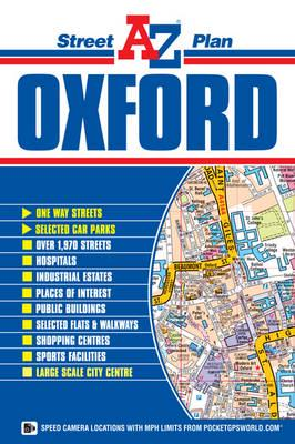 Oxford City A-Z Map 9781782570851  Geographers   Stadsplattegronden Midlands, Cotswolds, Oxford