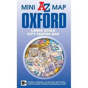 A-Z Oxford mini map 9781782571032  Geographers Street-by-street  Stadsplattegronden Midlands, Cotswolds, Oxford