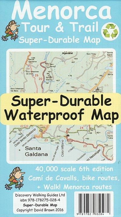 Menorca 1:40.000 9781782750505  Discovery Guides Wandelkaarten Spanje  Wandelkaarten Menorca