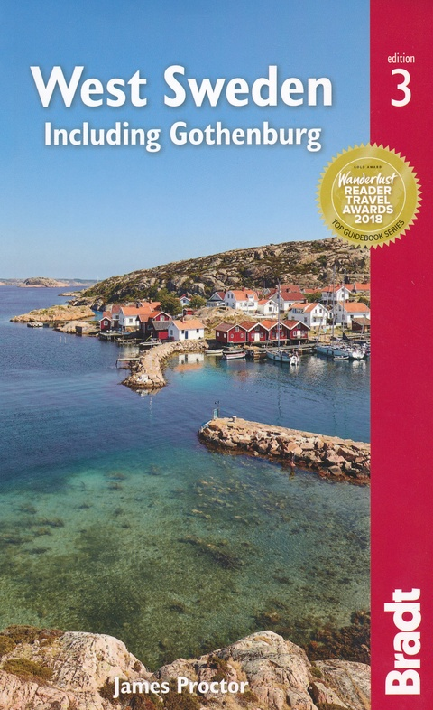 The Bradt Guide to West Sweden | reisgids 9781784776381 James Proctor Bradt   Reisgidsen Zweden