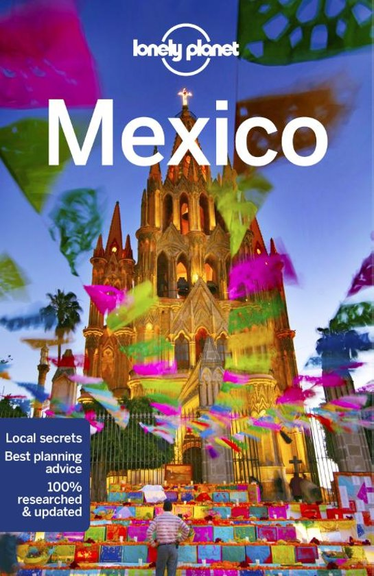Lonely Planet Mexico 9781786570802  Lonely Planet Travel Guides  Reisgidsen Mexico (en de Maya-regio)