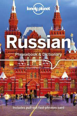 Russian Lonely Planet phrasebook 9781786574633  Lonely Planet Phrasebooks  Taalgidsen en Woordenboeken Rusland