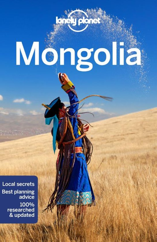 Lonely Planet Mongolia 9781786575722  Lonely Planet Travel Guides  Reisgidsen Mongolië