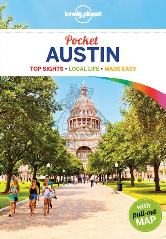 Austin Lonely Planet Pocket Guide 9781786577160  Lonely Planet Lonely Planet Pocket Guides  Reisgidsen Centrale VS – Zuid (Texas)