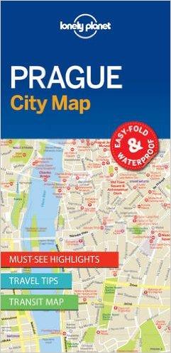 Prague | Lonely Planet City Map Praag 9781786577863  Lonely Planet LP Maps  Stadsplattegronden Tsjechië