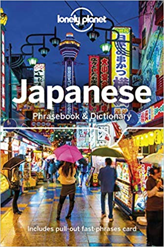 Japanese Lonely Planet phrasebook 9781787014664  Lonely Planet Phrasebooks  Taalgidsen en Woordenboeken Japan