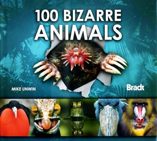 100 Bizarre Animals 9781841623009  Bradt   Natuurgidsen Wereld als geheel