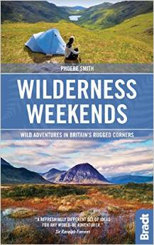 Wilderness Weekends 9781841629124 Phoebe Smith Bradt   Wandelgidsen Groot-Brittannië