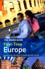 First Time Europe 9781843537939  Rough Guide Rough Guides/Special  Reisgidsen Europa