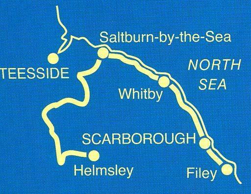 NTG03  Cleveland Way 9781845137816 Ian Sampson Aurum Press OS Nat. Trail Guides  Meerdaagse wandelroutes, Wandelgidsen Northumberland, Yorkshire Dales & Moors, Peak District, Isle of Man
