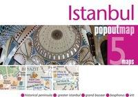 Istanbul pop out map | stadsplattegrondje in zakformaat 9781845879402  Grantham Book Services PopOut Maps  Stadsplattegronden Europees Turkije met Istanbul