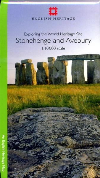 Stonehenge and Avebury 1:10.000 9781848021266  English Heritage   Wandelkaarten Cornwall, Devon, Somerset, Dorset