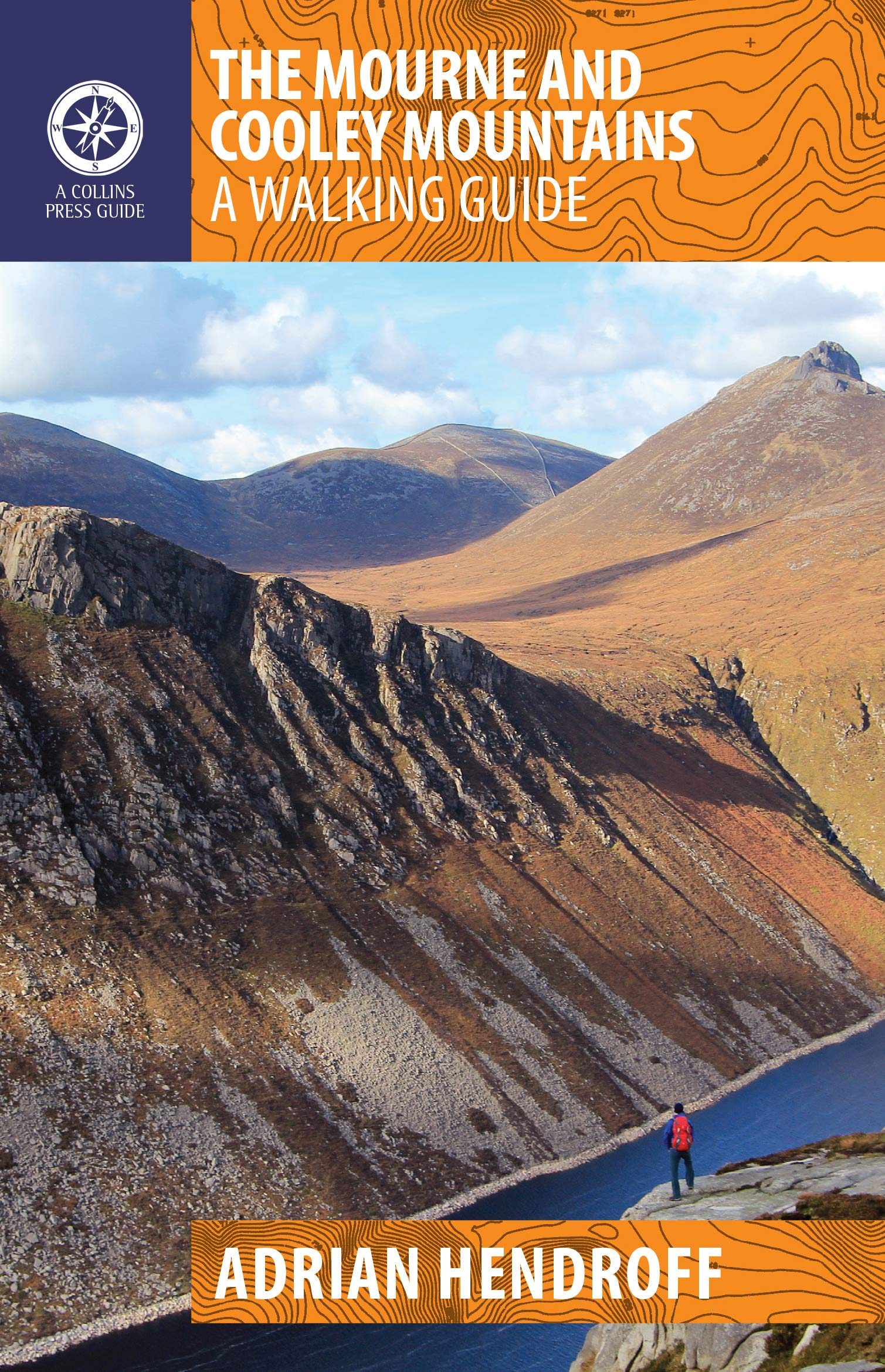 The Mourne and Cooley Mountains 9781848893467 Adrian Hendroff The Collins Press   Wandelgidsen Belfast, Ulster