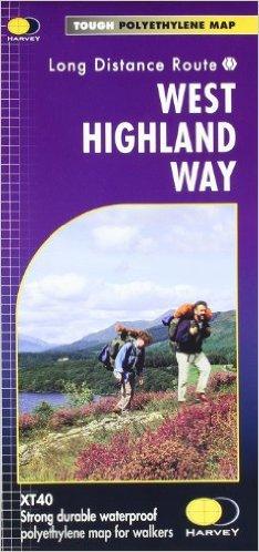 West Highland Way | wandelkaart 1:40.000 9781851374588  Harvey Maps   Meerdaagse wandelroutes, Wandelkaarten de Schotse Hooglanden (ten noorden van Glasgow / Edinburgh)