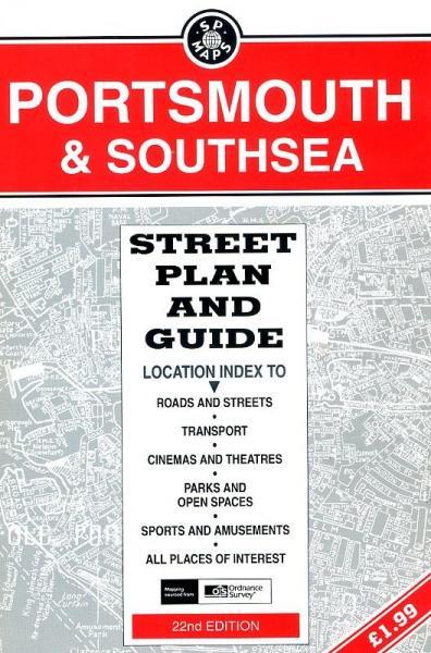Portsmouth & Southsea 9781852823832  Service Publications Ltd.   Stadsplattegronden Cornwall, Devon, Somerset, Dorset