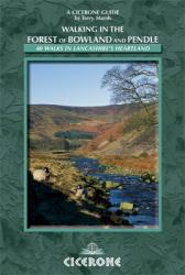 Forest of Bowland + Pendle Hill | wandelgids 9781852845155  Cicerone Press   Wandelgidsen Northumberland, Yorkshire Dales & Moors, Peak District, Isle of Man