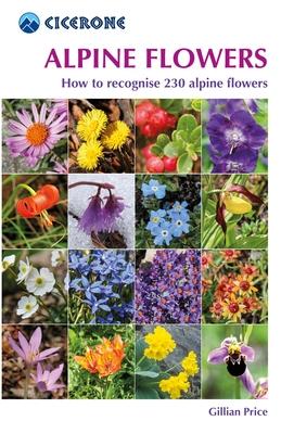 Alpine Flowers | bloemengids Alpen 9781852845650  Cicerone Press   Natuurgidsen, Plantenboeken Zwitserland en Oostenrijk (en Alpen als geheel)
