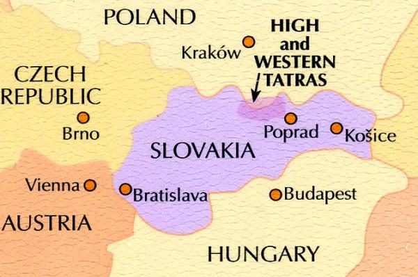 The High Tatras   wandelgids 9781852846824  Cicerone Press   Wandelgidsen Slowakije