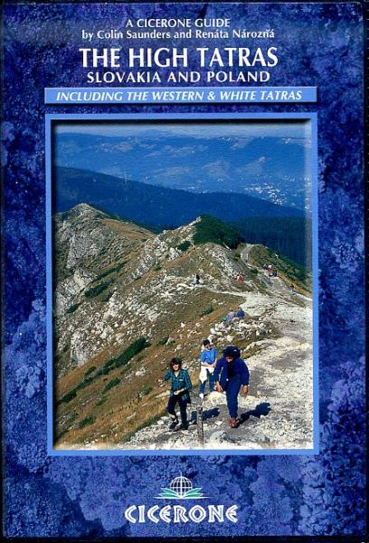 The High Tatras | wandelgids 9781852846824  Cicerone Press   Wandelgidsen Slowakije