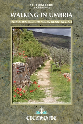 (aanbiedingsprijs) Walking in Umbria * 9781852847111  Cicerone Press   Wandelgidsen Umbrië