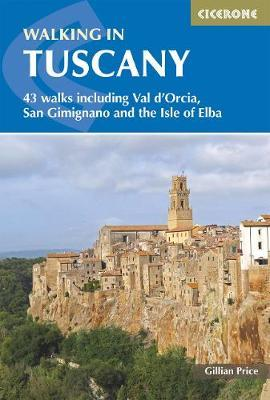 Walking in Tuscany 9781852847128  Cicerone Press   Wandelgidsen Toscane, Florence