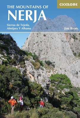 The Mountains of Nerja | wandelgids 9781852847548 Jim Ryan Cicerone Press   Wandelgidsen Malaga