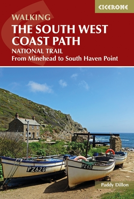 South West Coast Path | wandelgids 9781852847579 Paddy Dillon Cicerone Press   Meerdaagse wandelroutes, Wandelgidsen Cornwall, Devon, Somerset, Dorset